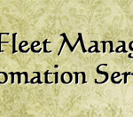 Optimize Your Fleet Management Through Fleet Automation Services