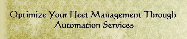 Optimize your fleet management through automation services