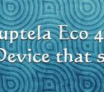 Ruptela Eco4+ GPS Tracking device