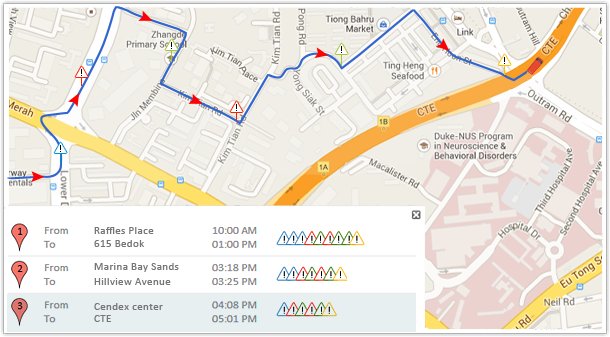 Share vehicle location; Let clients see your vehicle heading for delivery realtime