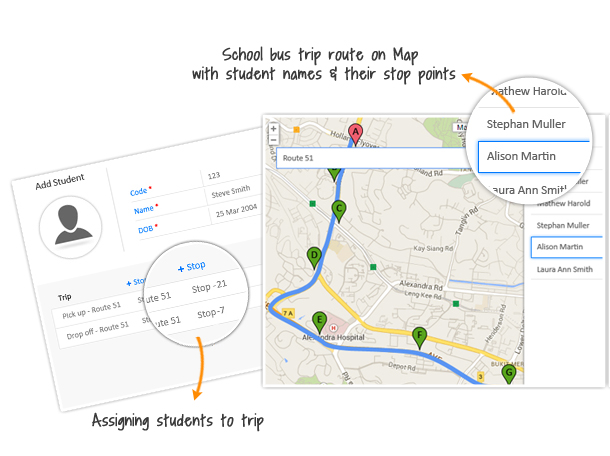School bus tracking with GPS devices