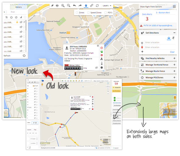 GPS tracking with Fleet automation