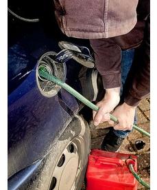 سرقة الوقود